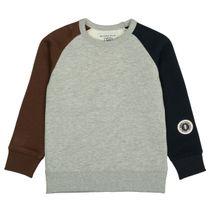 BASEFIELD Sweatshirt mit Raglanärmeln - Mid Grey Melange