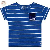 JETTE Boxy-Shirt - Royal Blue