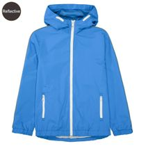 Jacke mit reflektierenden Prints - Blue