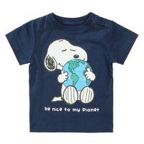 ORGANIC COTTON T-Shirt PLANET - Dark Tinte