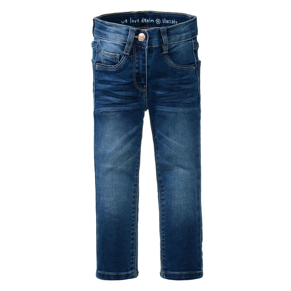 Mädchen Skinny Jeans - MIA Slim Fit - Mid Blue Denim
