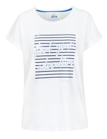 FRY DAY Shirt mit Front-Print - White