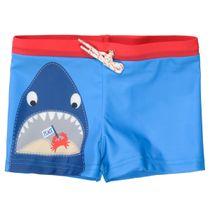 Badehose mit Hai-Print - Blue