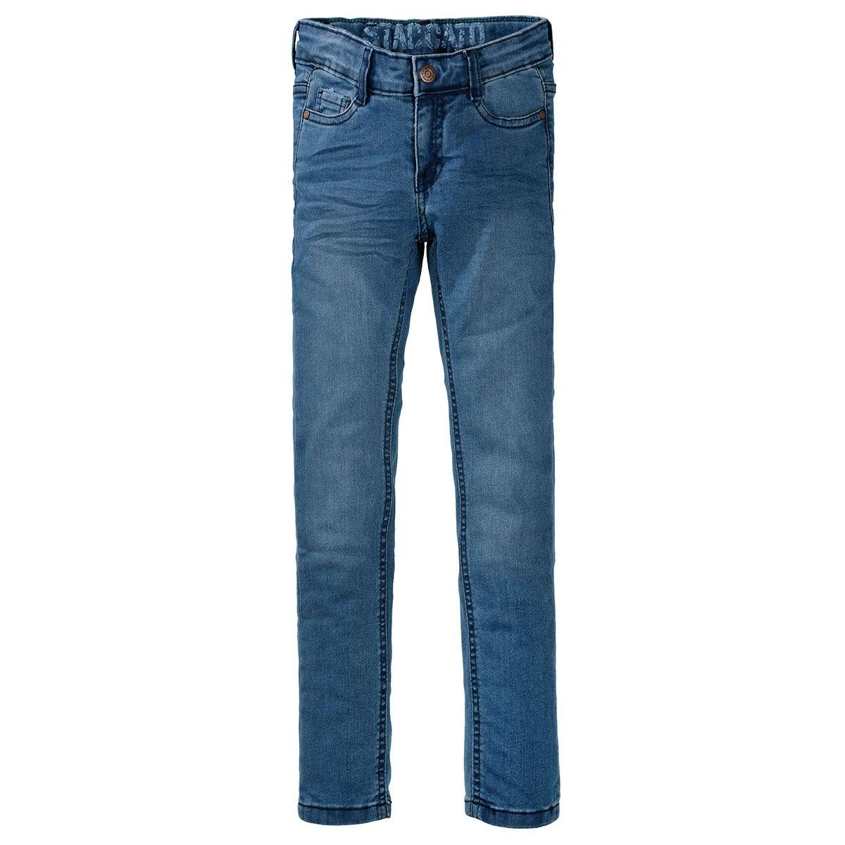 ORGANIC COTTON Skinny Jeans Slim Fit  - Light Blue Denim