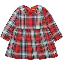 Kleid mit Karomuster - Bright Red