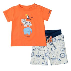 Set aus T-Shirt und Bermudas - Bunt sortiert
