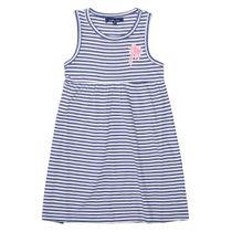 ATTENTION Kleid im Streifen-Design - Navy
