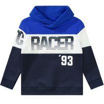 Sweatshirt mit Frontprint - Blue