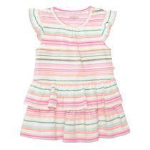 Kleid mit bunten Streifen - Multicolour