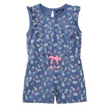 ATTENTION Jumpsuit mit Allover-Print - Pineapple