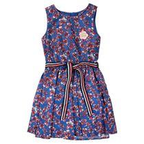 JETTE Kleid mit Blumen - Powder Blue