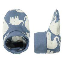 ORGANIC COTTON Schuhe mit Allover-Print - Soft Jeans