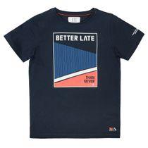 T-Shirt mit Print - Deep Marine