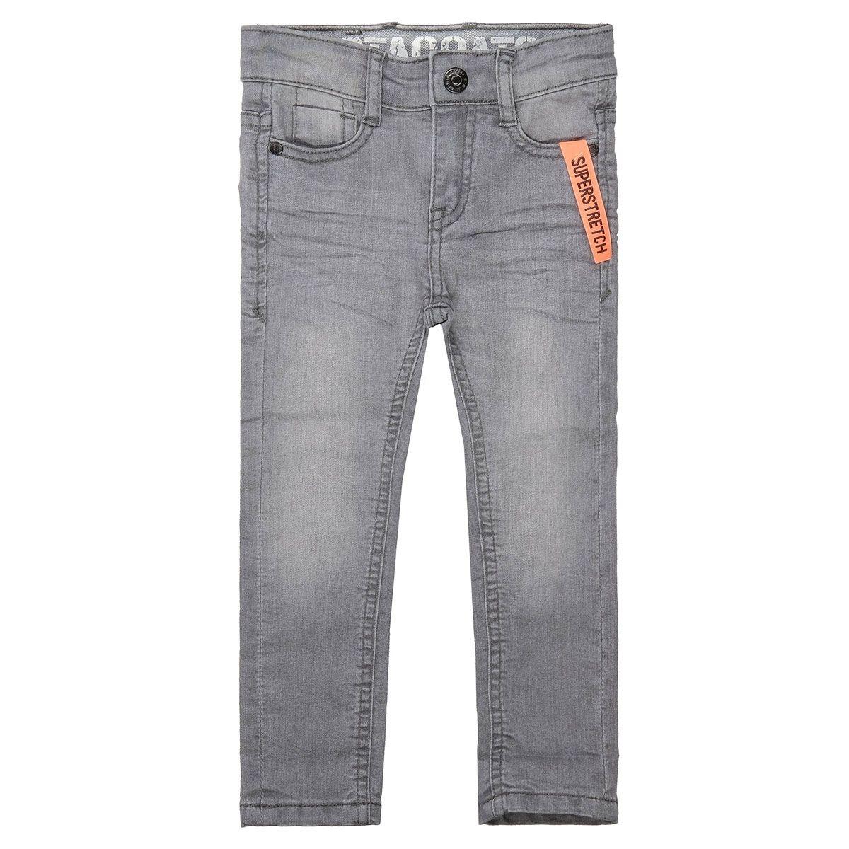 Jungen Skinny Jeans Regular Fit - Grey Denim
