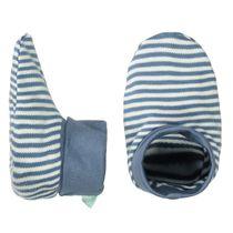 ORGANIC COTTON Schuhe mit Allover-Print - Soft Jeans Blue