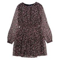 ATTENTION Kleid mit Blumen-Print - Black AOP