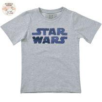 Star Wars T-Shirt Wendepailletten - Grey Melange