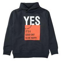 ATTENTION Sweatshirt mit Schalkragen - Dark Anthra