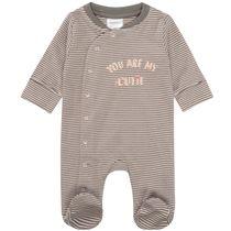 ORGANIC COTTON Pyjama CUTIE - Graphit