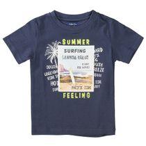 ATTENTION T-Shirt mit Print - Night Blue
