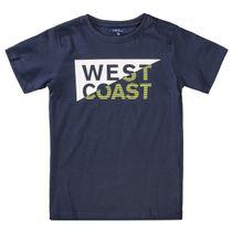 ATTENTION T-Shirt mit Wording - Night Blue