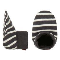 ORGANIC COTTON Schuhe mit Allover-Print - Soft Anthra