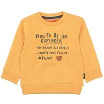 Sweatshirt mit Wording-Print - Honey