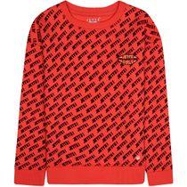JETTE Boxy Sweatshirt - Bright Orange