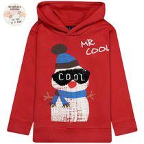 WENDEPAILLETTEN Sweatshirt MR. COOL - Light Red
