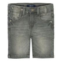 Jeans-Bermudas im 5-Pocket-Style - Grey denim