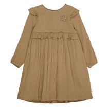 BASEFIELD Kleid aus Baumwollmusselin - Amber Green