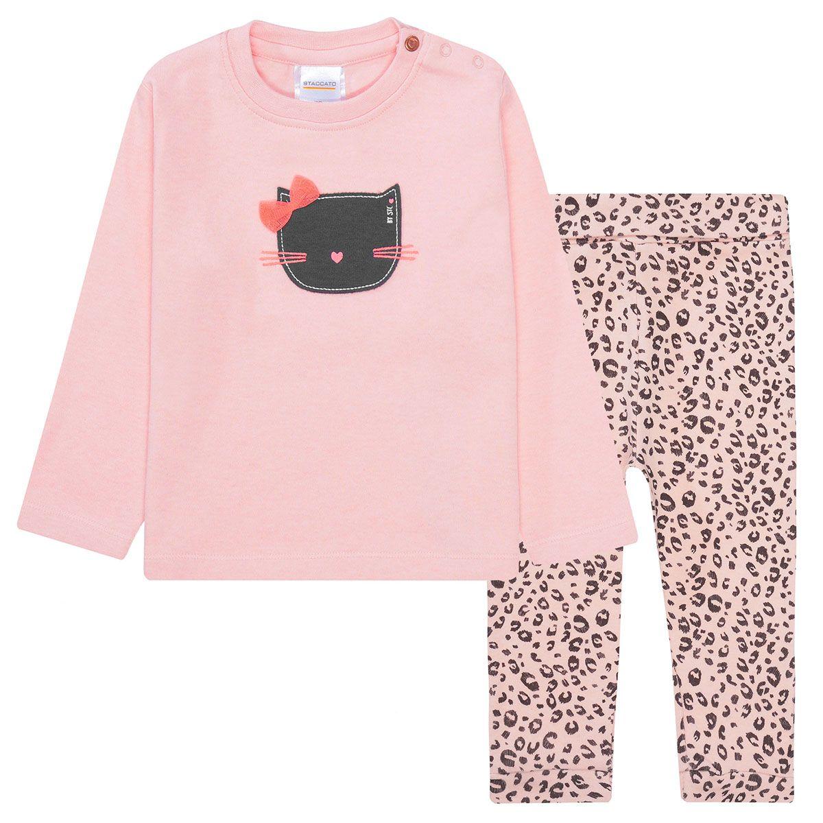 Pyjama KÄTZCHEN - Blush Melange