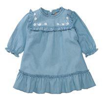 Kleid in Denim-Optik - Blue Denim