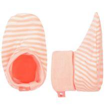 Jersey Schuhe - Neon Peach Gestreift