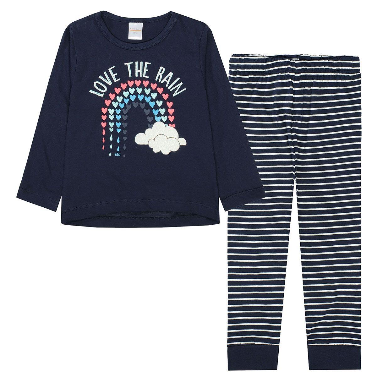 Pyjama Love Rain - Dark Marine