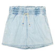 Jeans-Shorts - Light Blue Denim