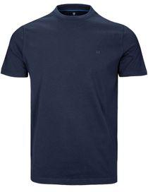Basic T-Shirt mit Rundhalsausschnitt - Nachtblau