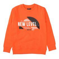 Sweatshirt mit Front-Print - Fire