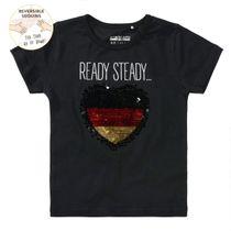 WENDEPAILETTEN T-Shirt GOAL - Black