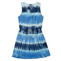 Kleid im Batik-Design - Sea Blue