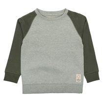 BASEFIELD Sweatshirt mit Raglanärmeln - Mid Grey