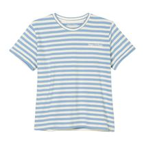 MARC O'POLO Shirt im Streifen-Design - Soft Blue Stripe