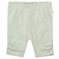 Capri Leggins mit Streifen - Khaki