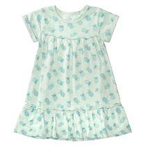 BASEFIELD Kleid mit Allover-Print - Jade