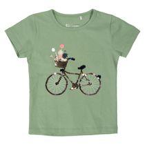 WENDEPAILLETTEN T-Shirt - Khaki