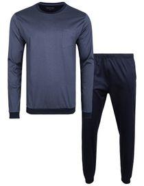 COMMANDER Schlafanzug - Iron Blue Navy