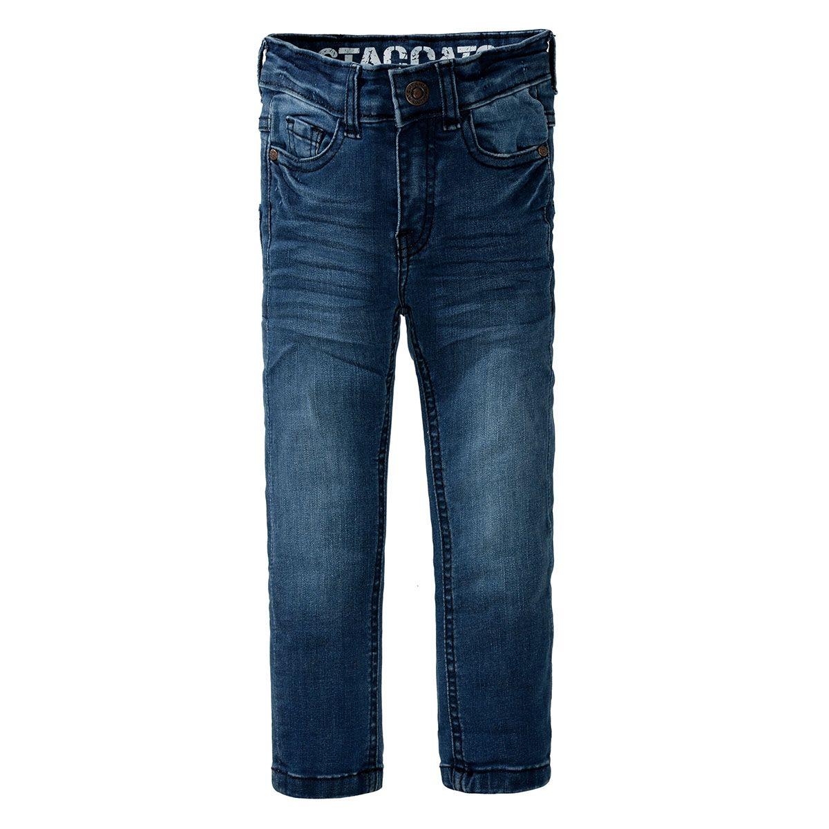 Jungen Jeans - LOUIS Slim Fit - Mid Blue Denim