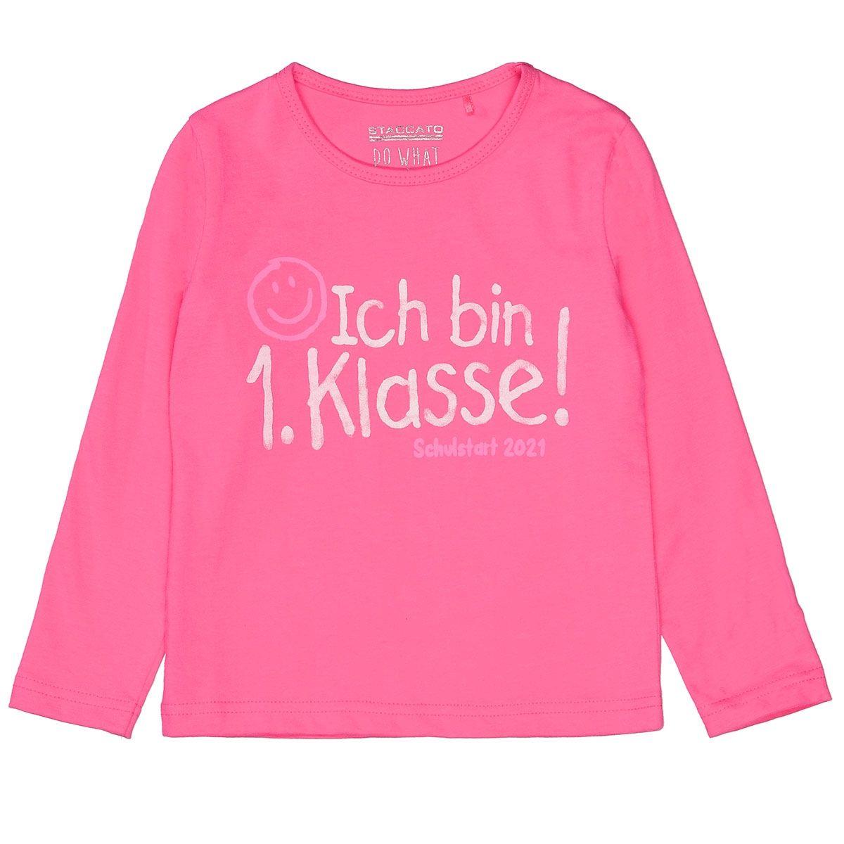 Langarmshirt 1.Klasse - Pink