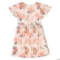 Kleid mit Allover-Print - Light Powder