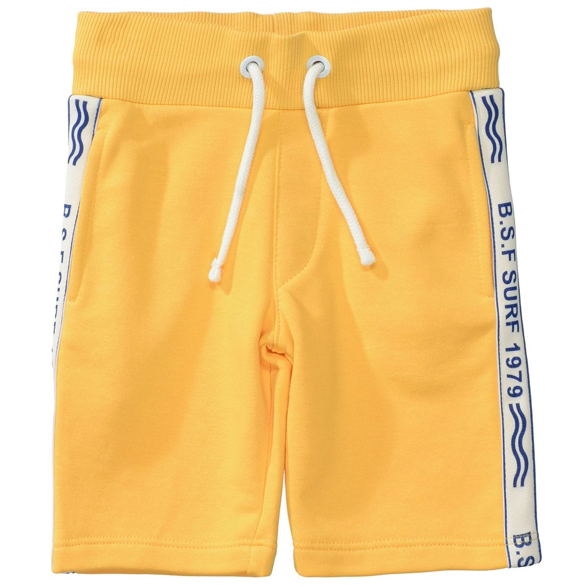 BASEFIELD Sweat Bermuda - Sun Yellow